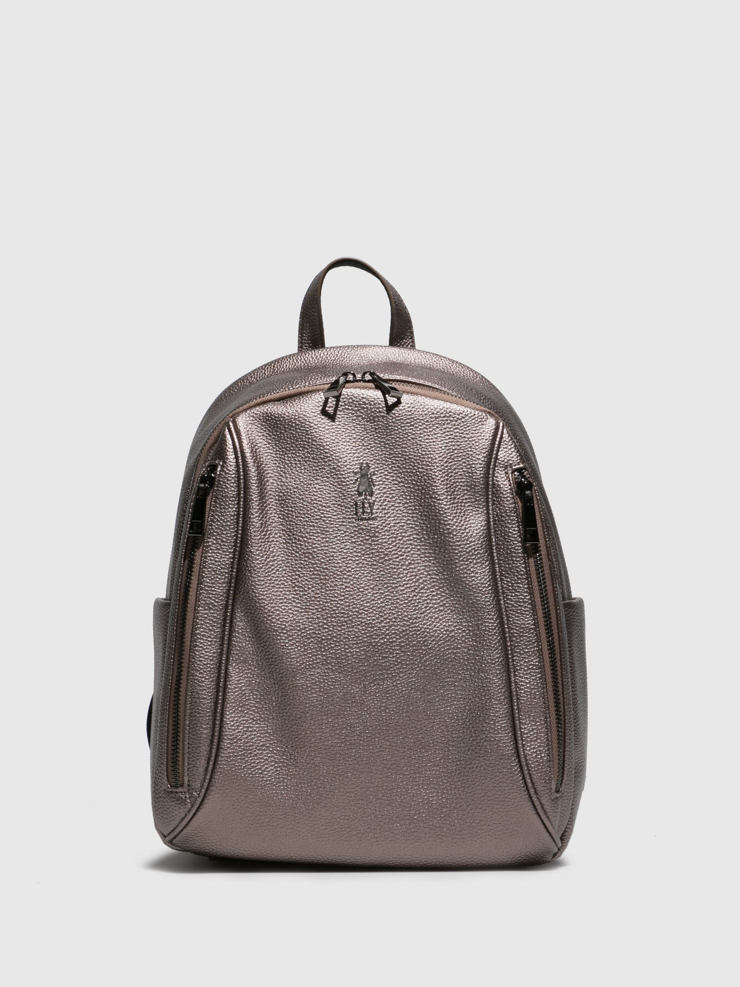 Fly London Backpack Bags AION708FLY MINERVA DK SILVER