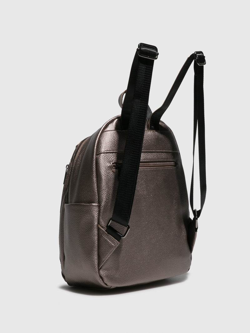 Backpack Bags AION708FLY MINERVA DK SILVER