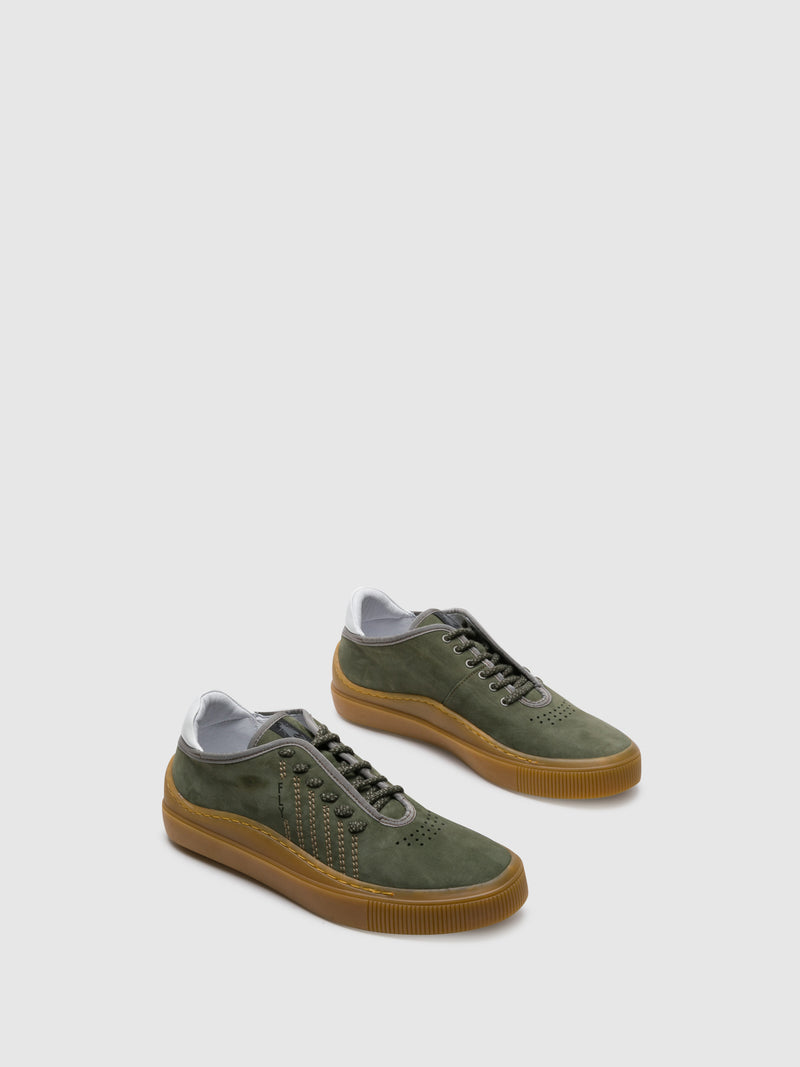 Fly London green Lace-up Trainers