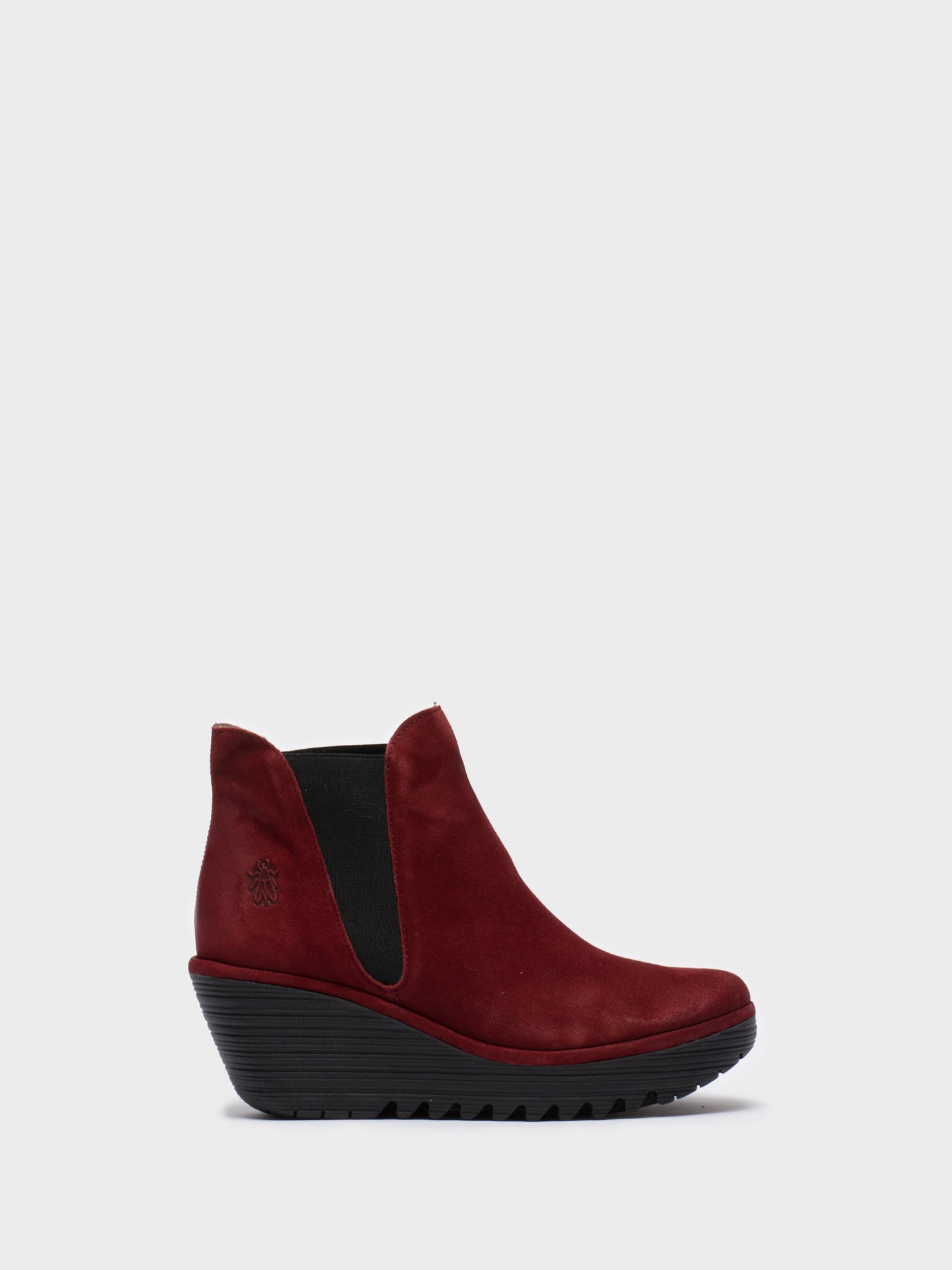 Fly London Firebrick Chelsea Ankle Boots