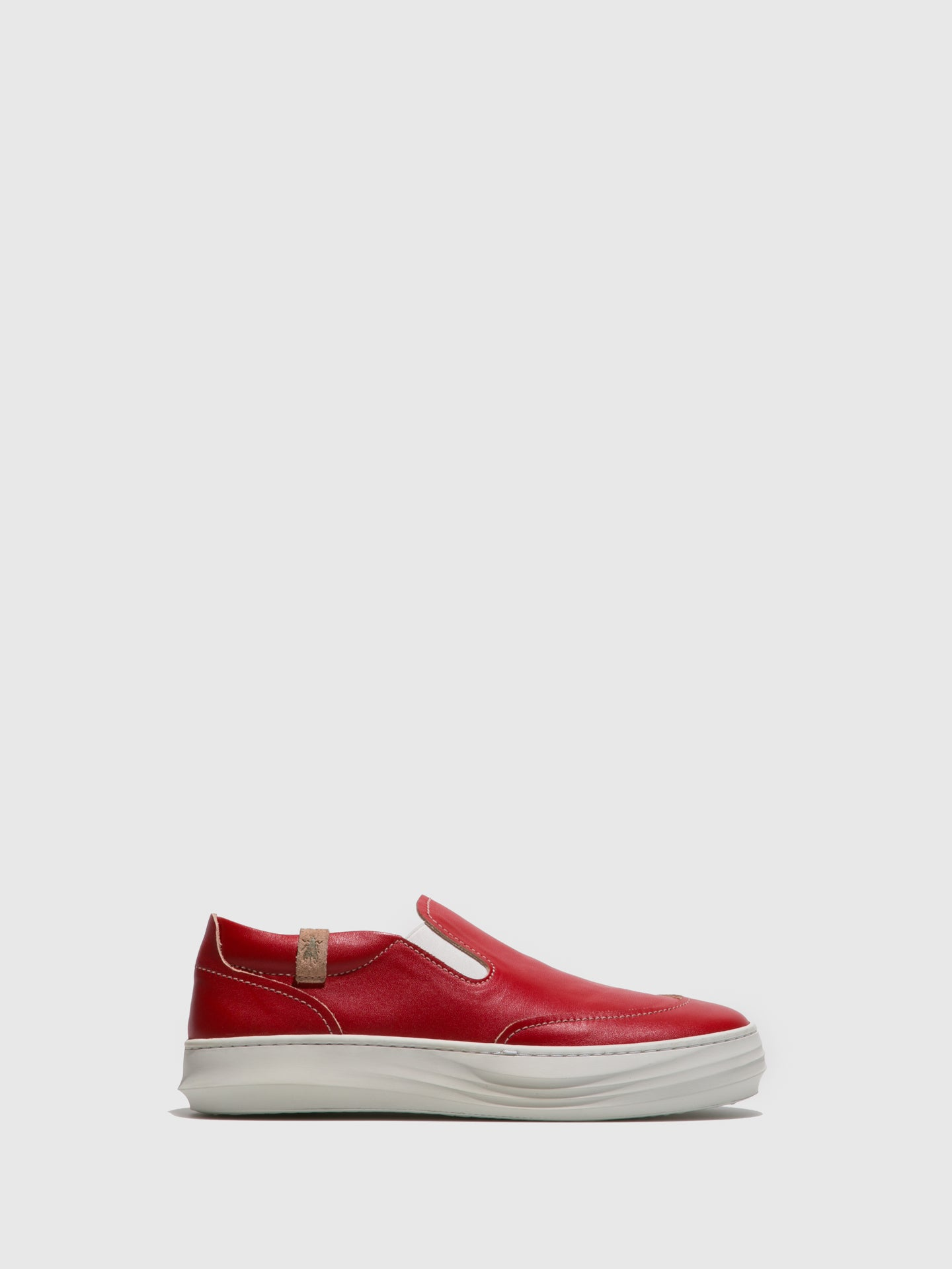 Fly London Red Slip-on Trainers