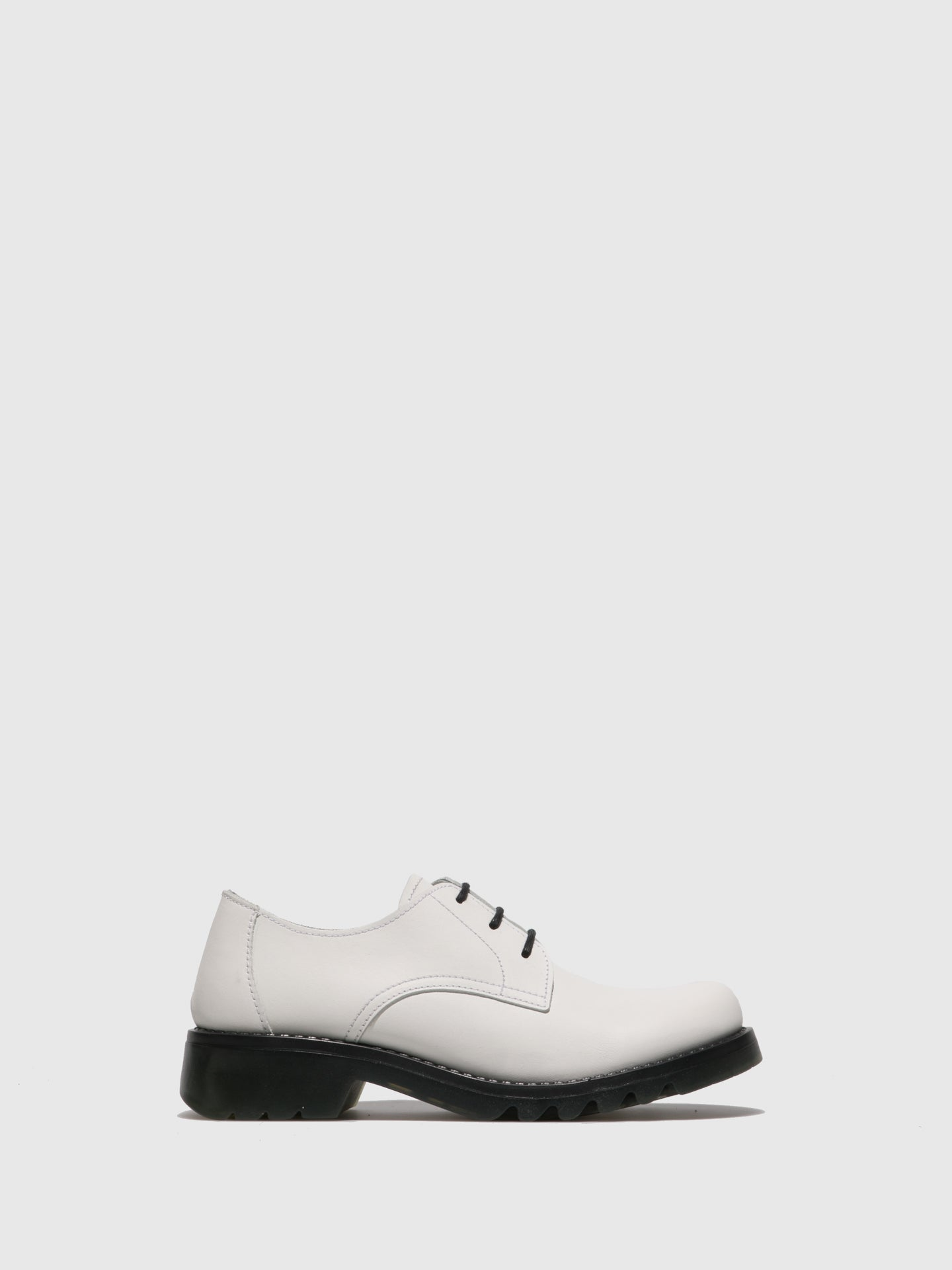 Fly London White Lace-up Shoes
