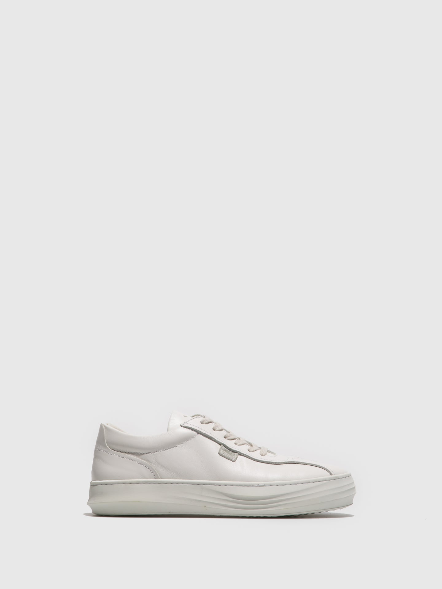 Fly London White Lace-up Trainers