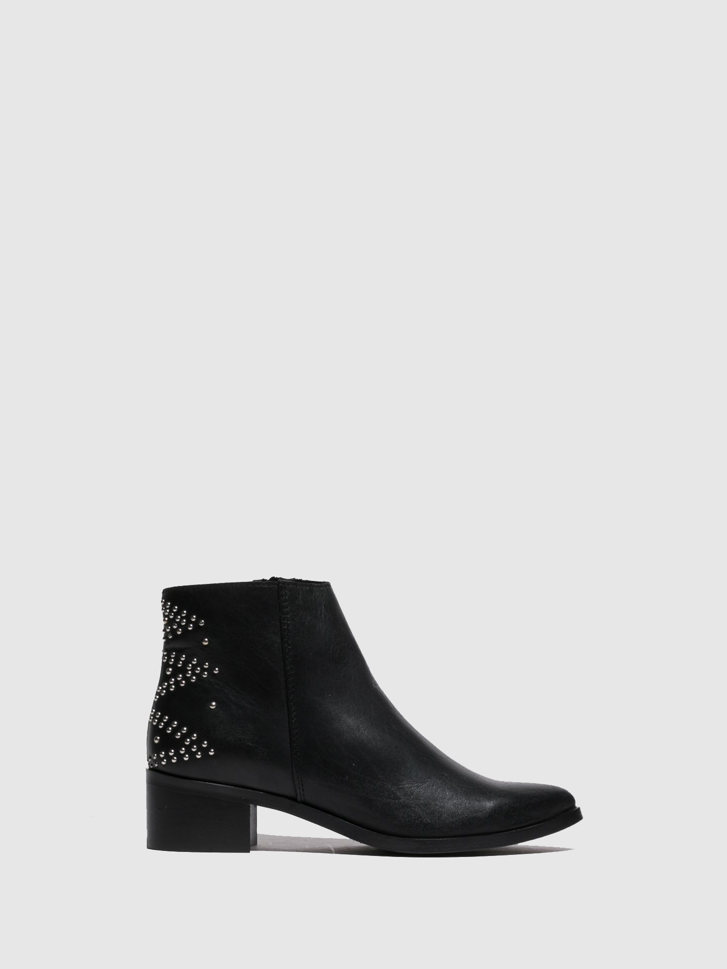Foreva Black Pointed Toe Ankle Boots
