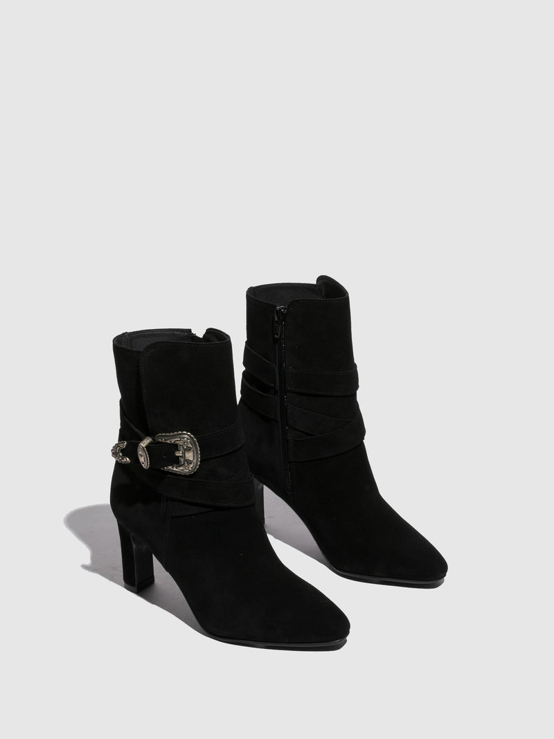 Foreva Black Buckle Boots