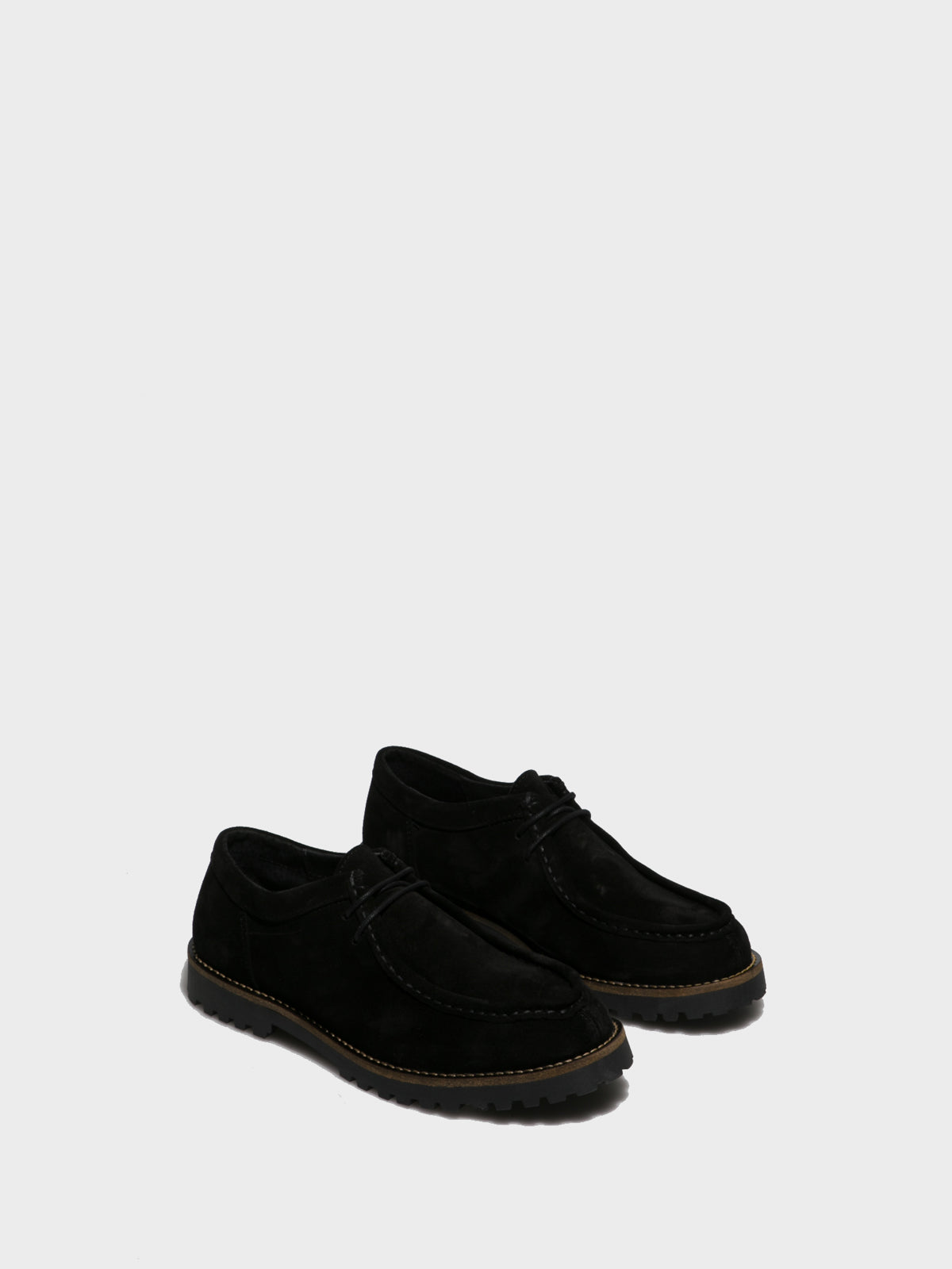 Foreva Black Lace-up Shoes