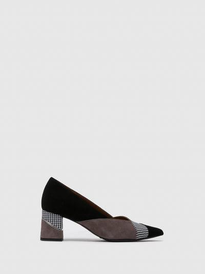 Foreva Smoke Black Pointed Toe Shoes