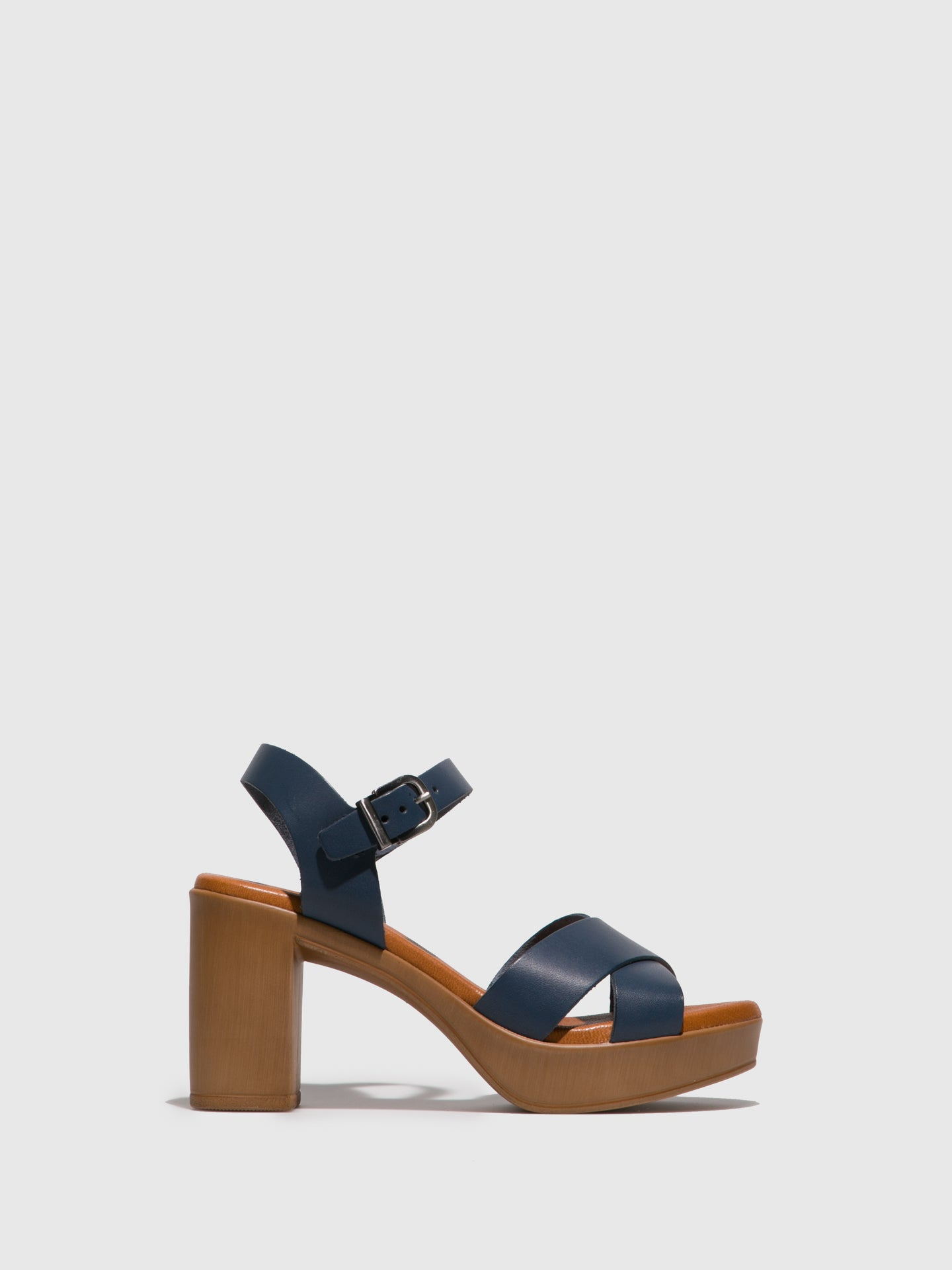 Foreva Navy Heel Sandals