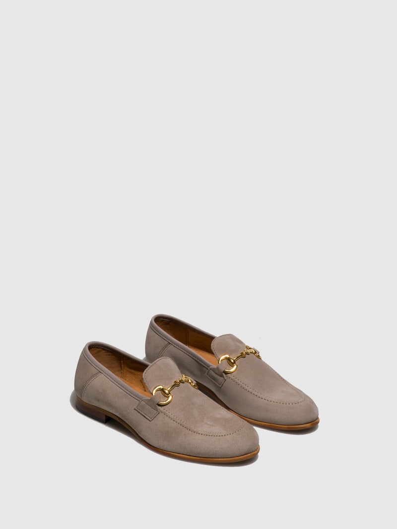 Foreva Taupe Mocassins Shoes