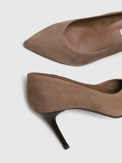 Foreva Wheat Pointed Toe Pumps