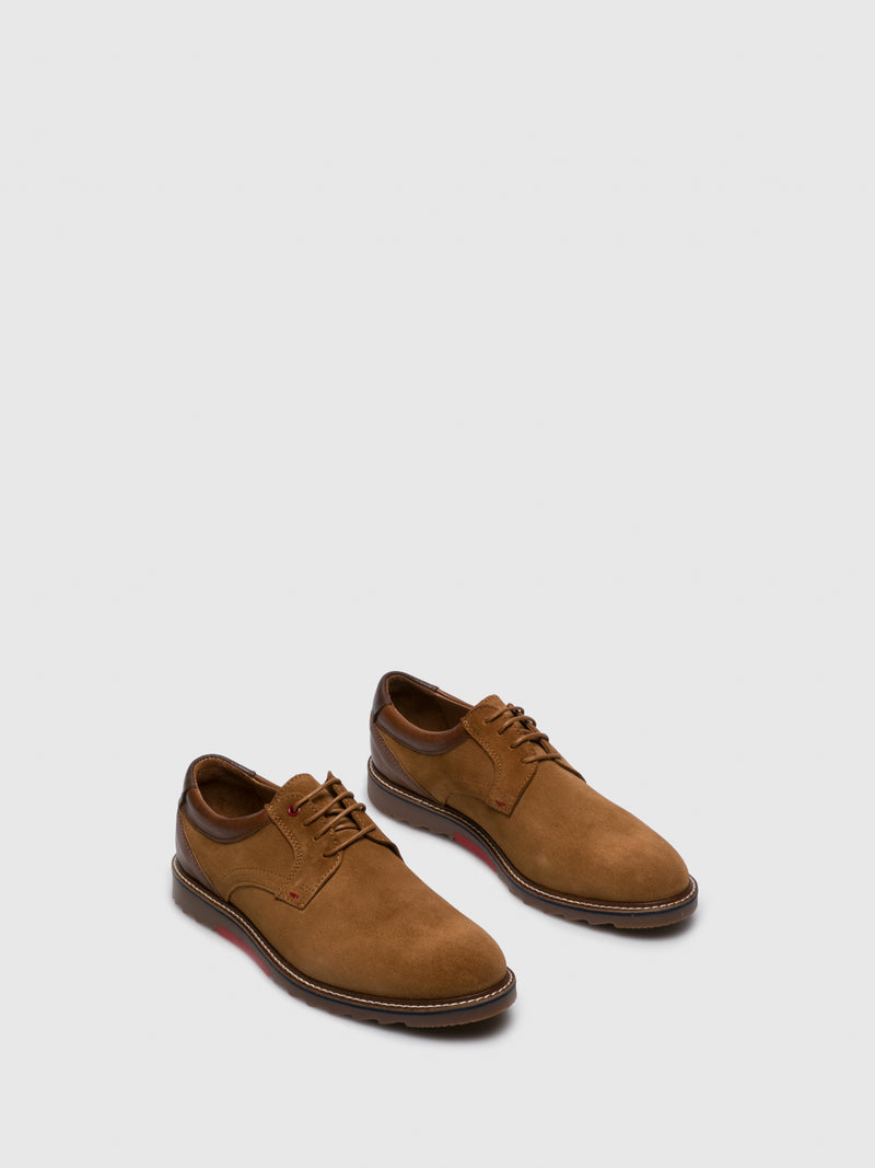 Camel Derby Shoes