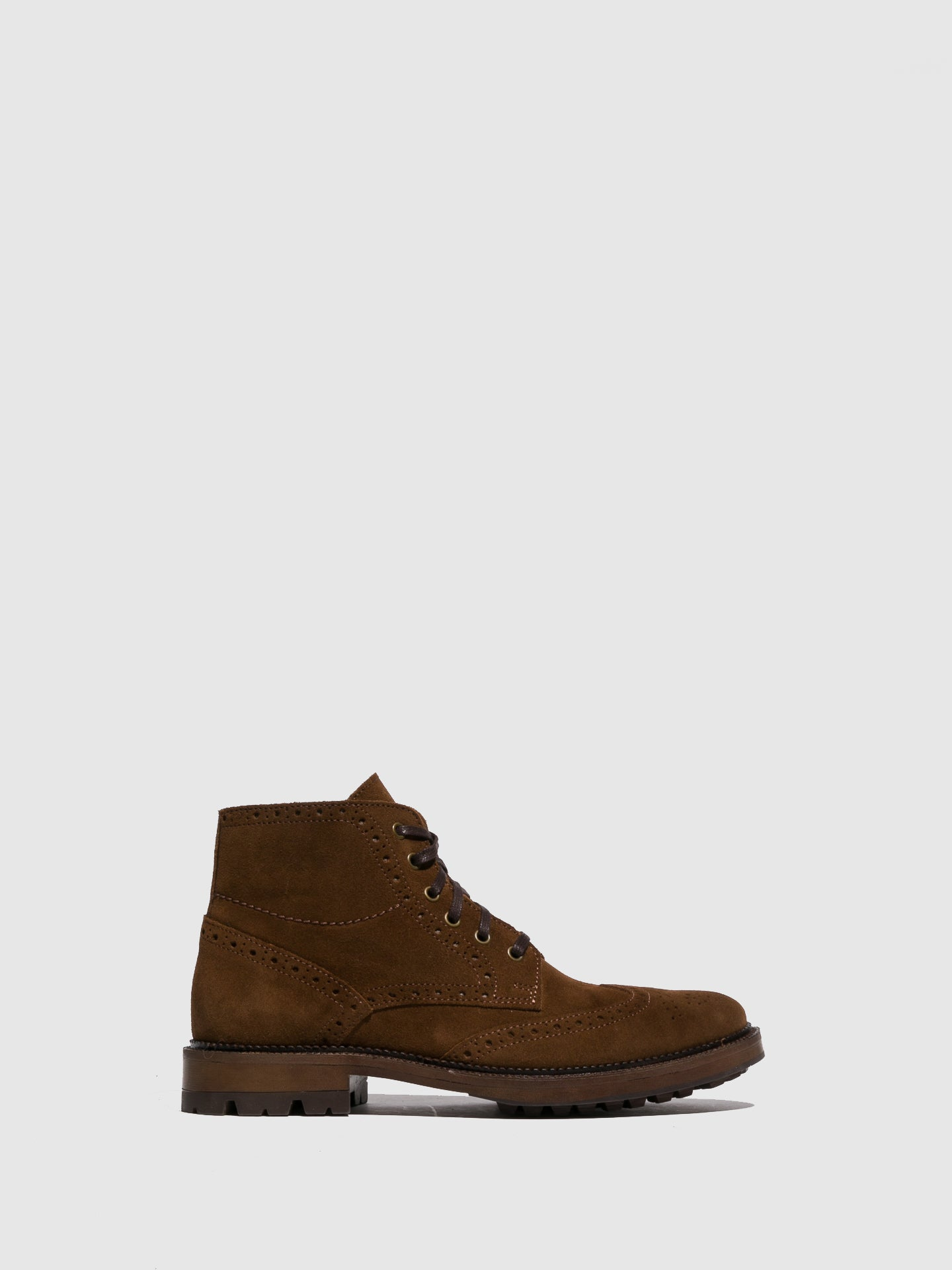 Foreva Camel Lace-up Boots