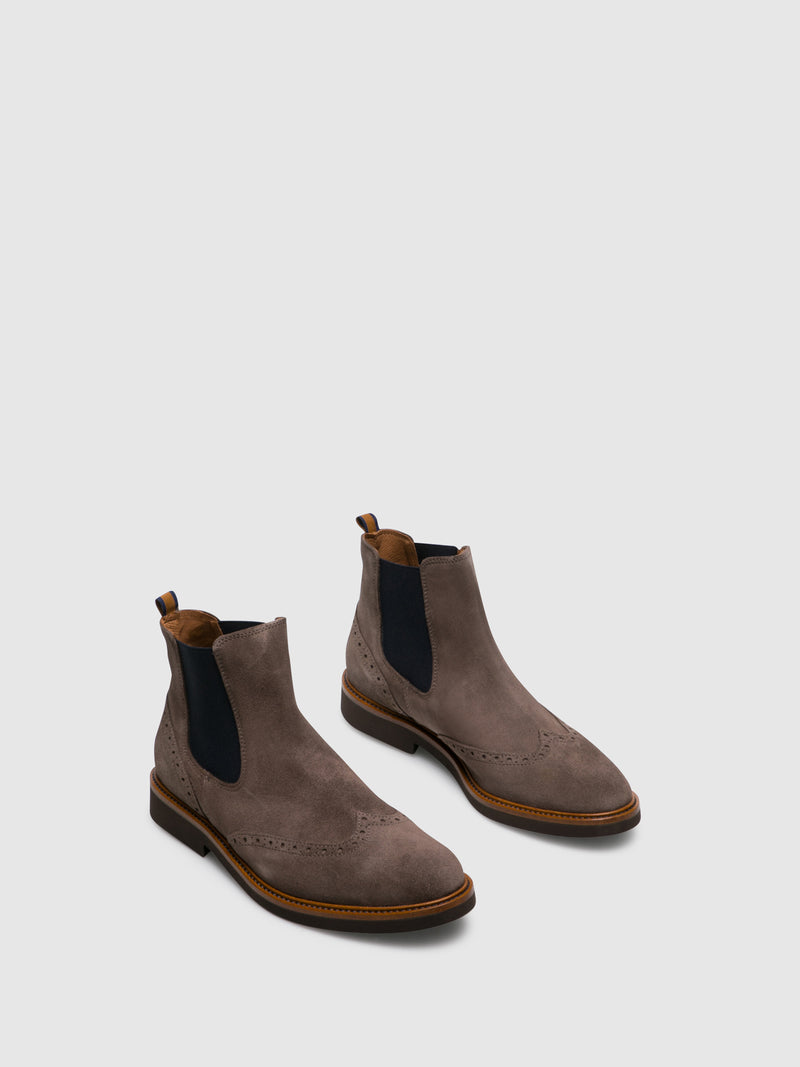 Foreva Gray Chelsea Ankle Boots