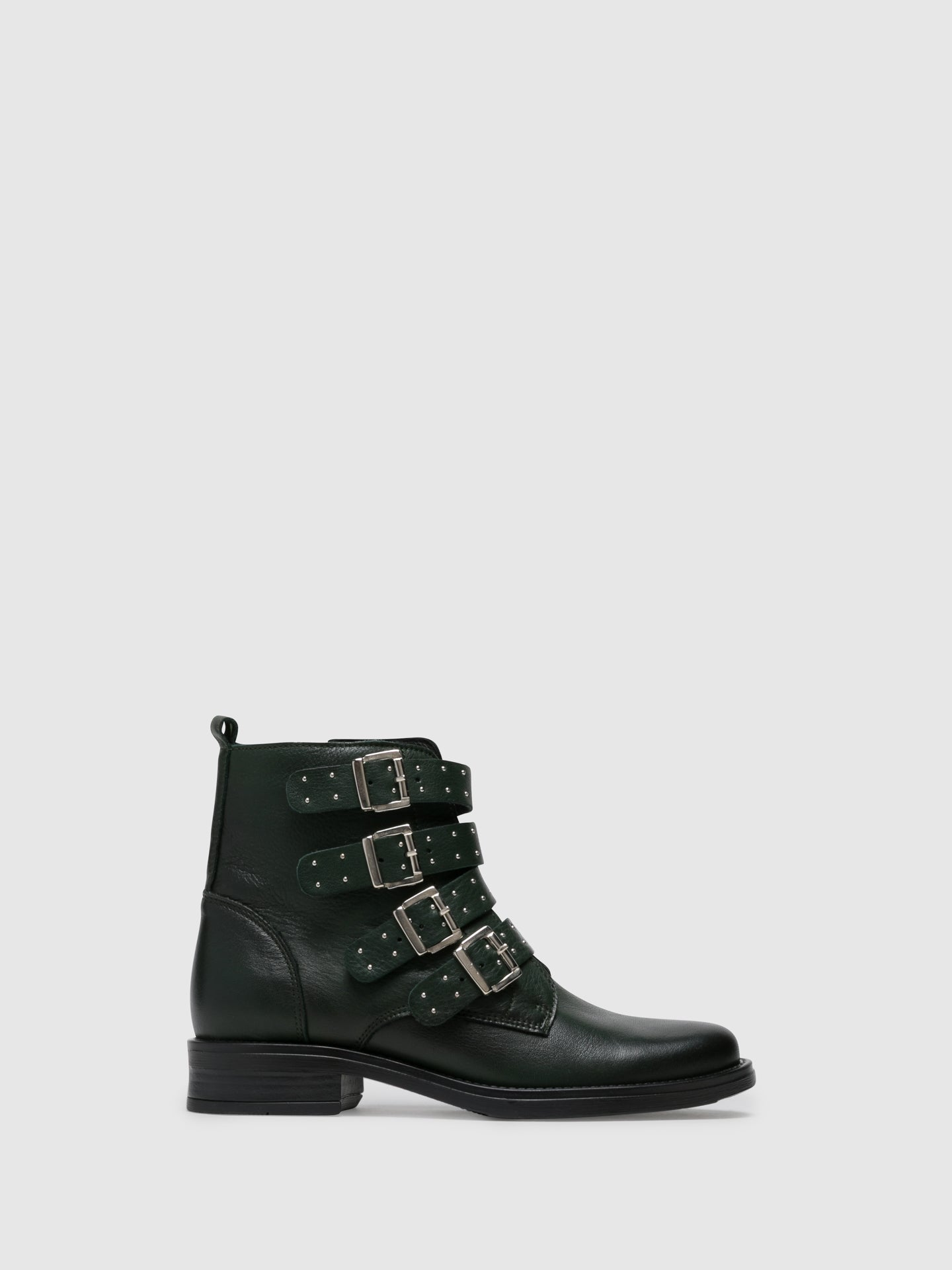 Foreva Green Zip up Boots