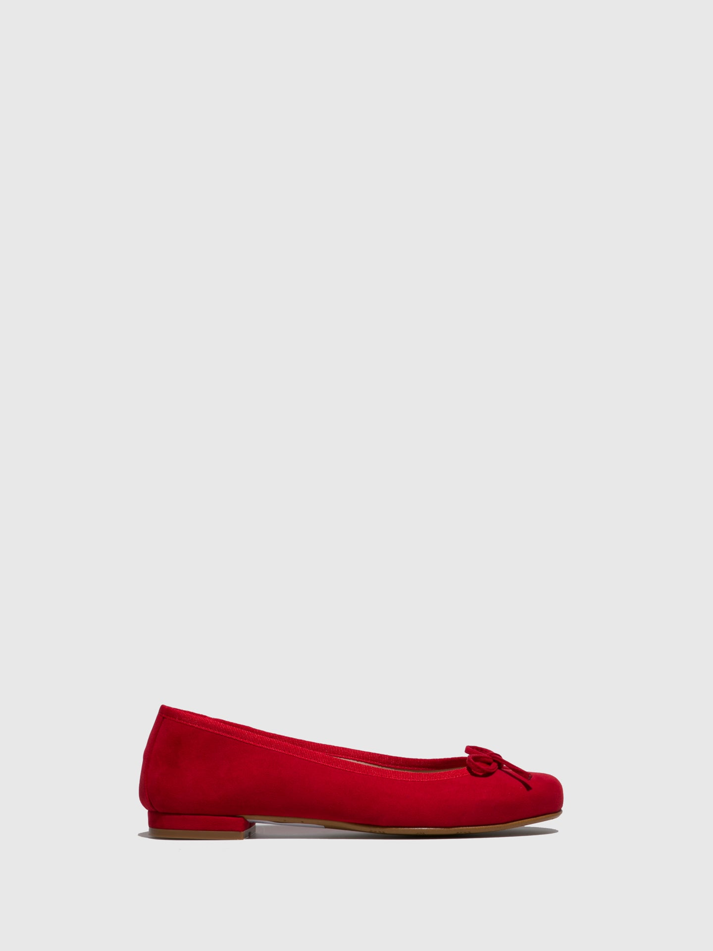Foreva Red Bow Ballerinas