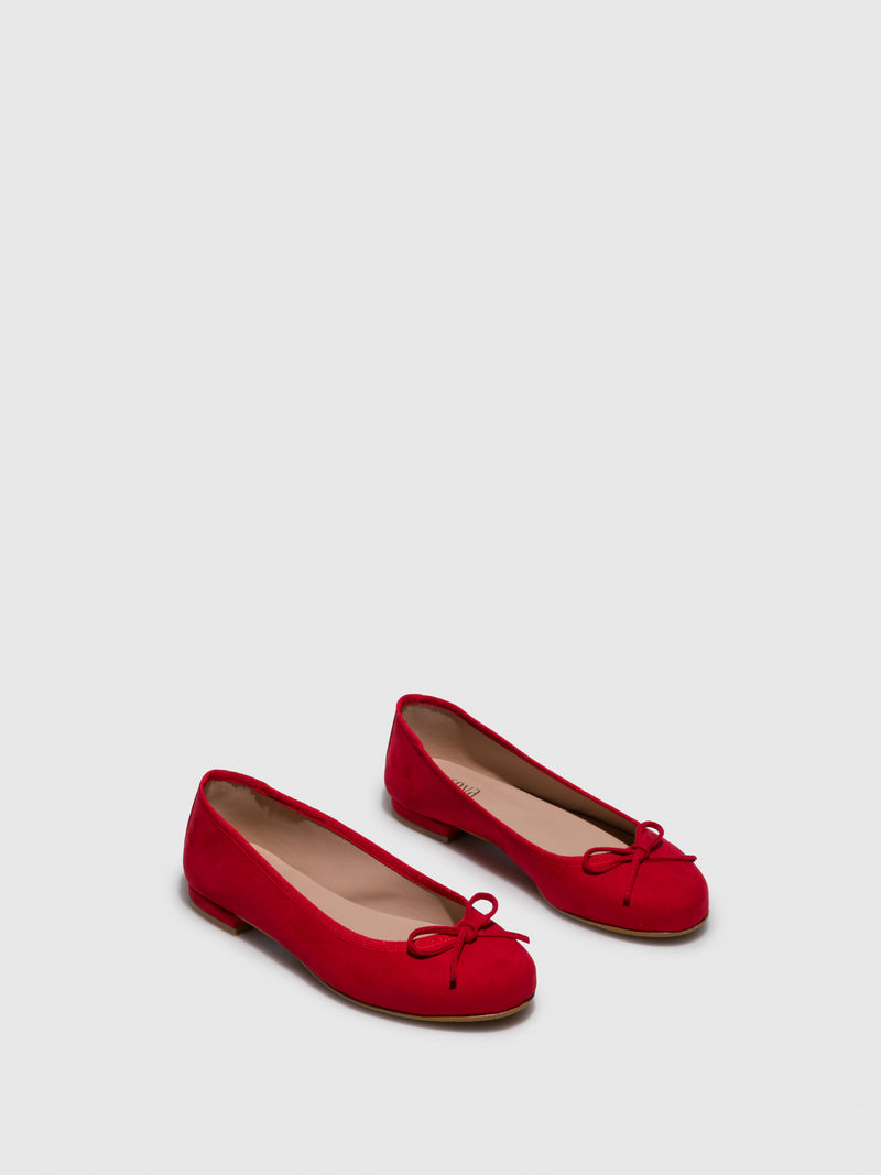 Red Bow Ballerinas