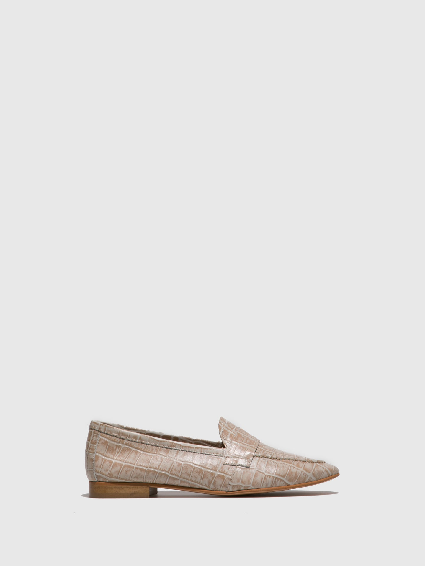 Foreva Beige Flat Shoes