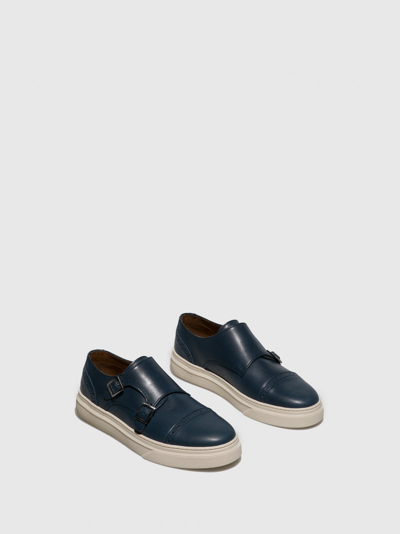 Fungi Blue Buckle Shoes