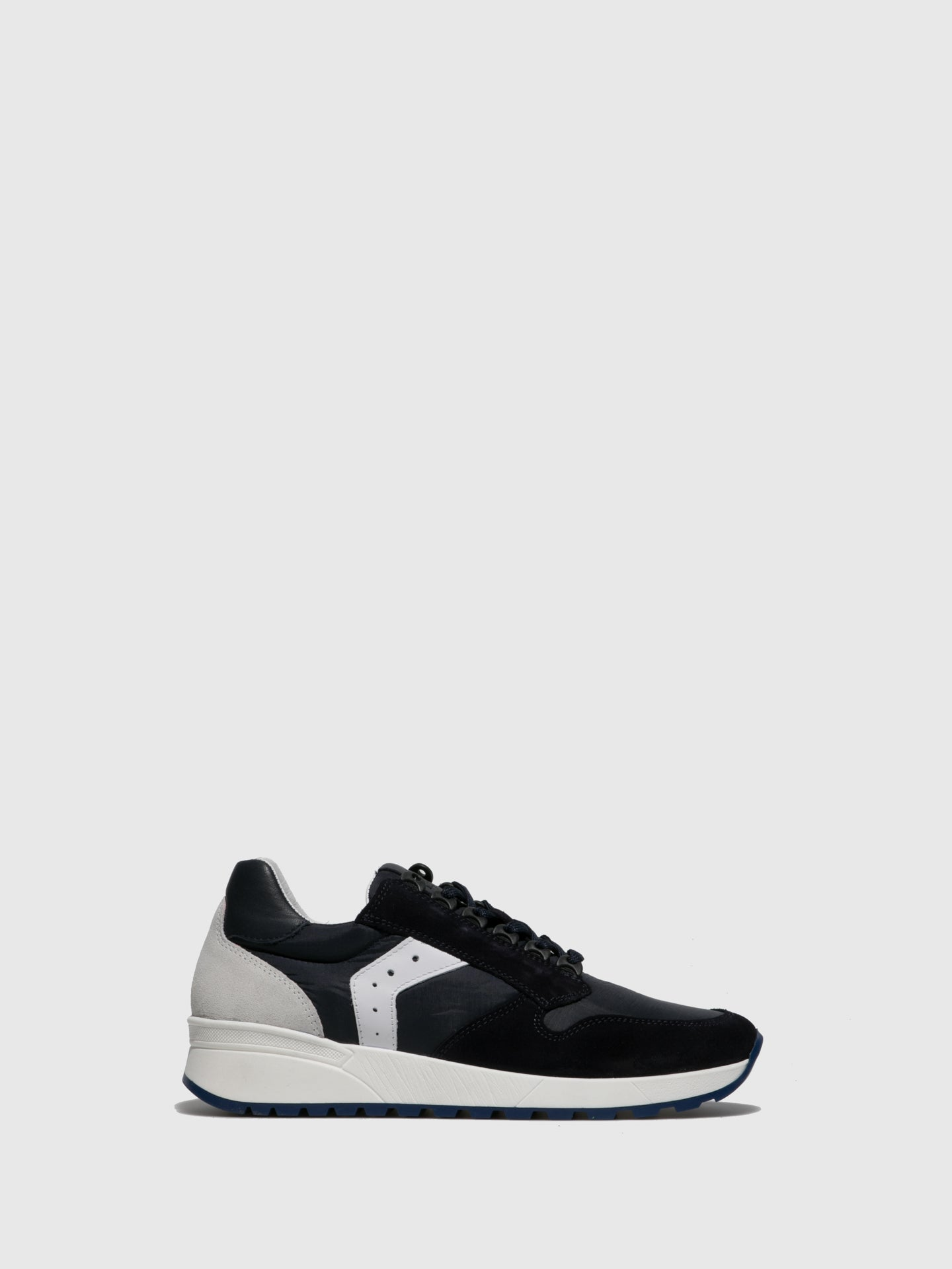 Fungi Navy Lace-up Trainers
