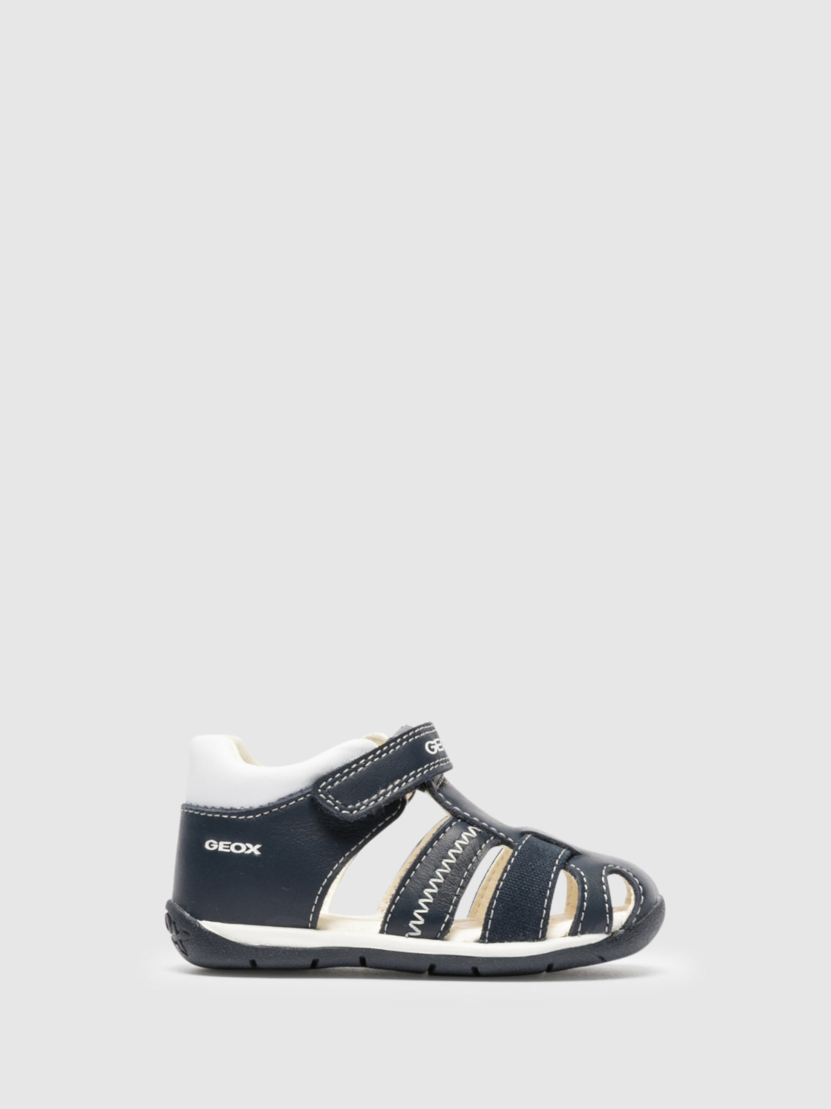 Geox Blue Buckle Sandals