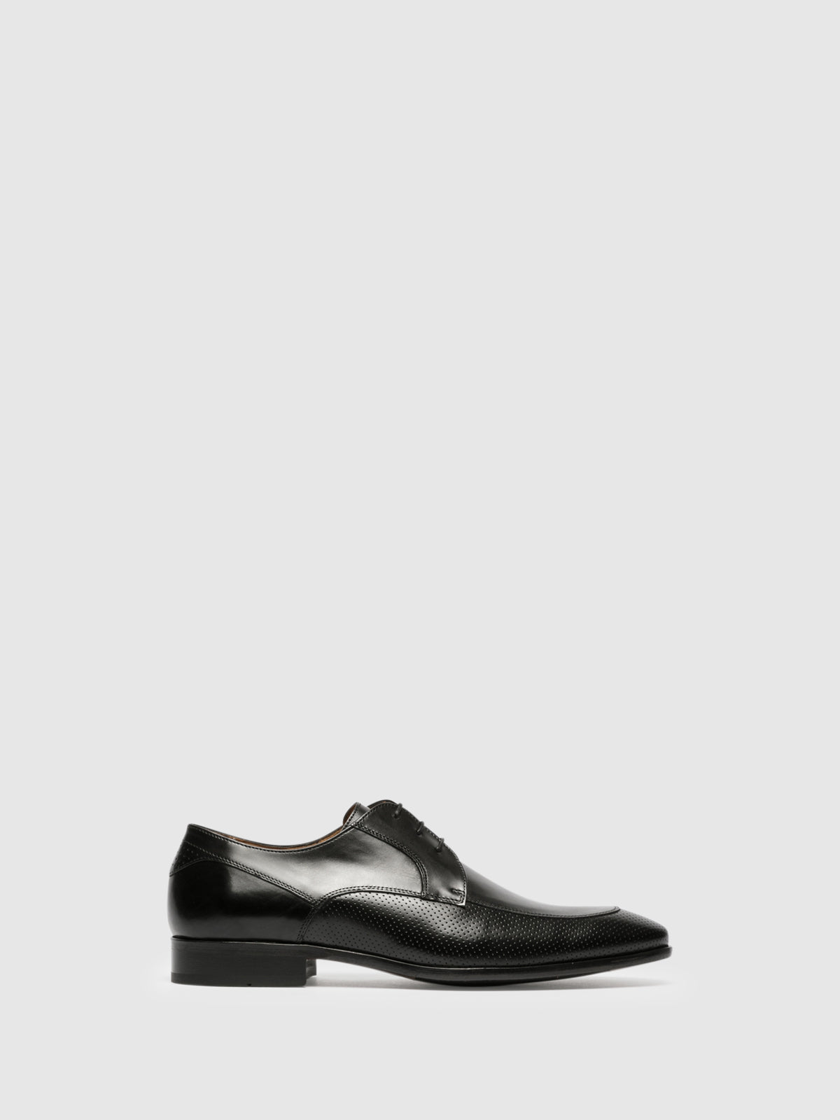 Gino Bianchi Black Derby Shoes