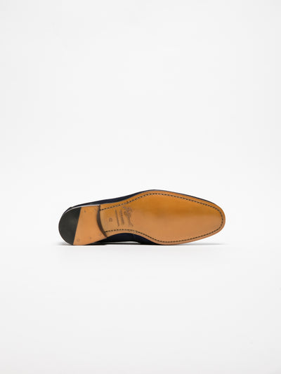 Gino Bianchi Blue Loafers Shoes