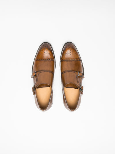Gino Bianchi Brown Buckle Shoes