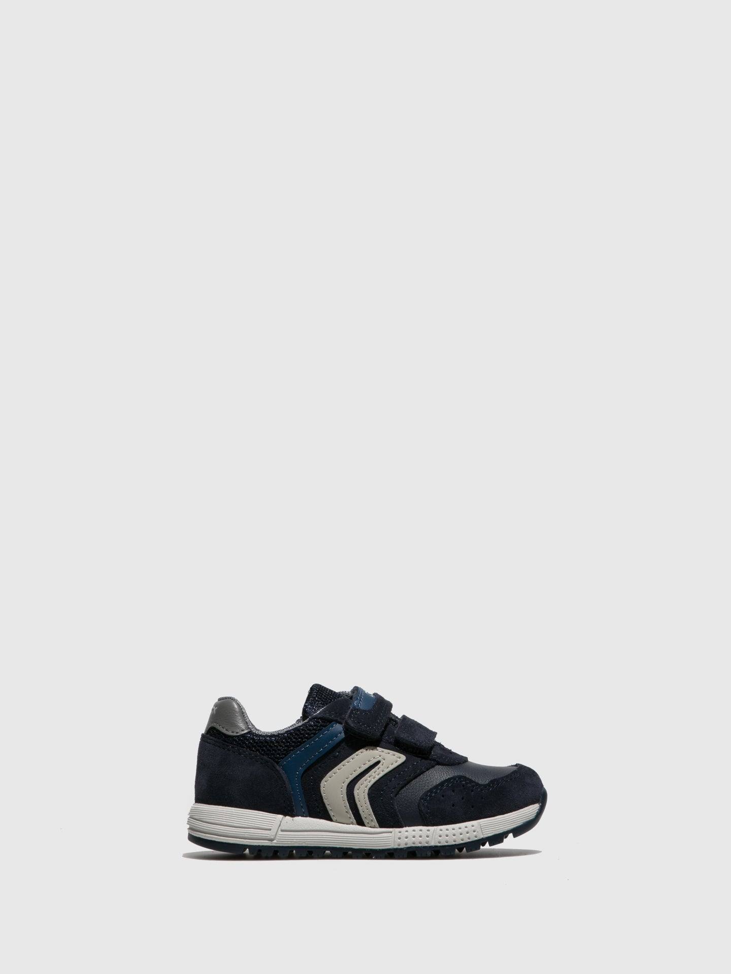 Geox Navy Lace-up Trainers