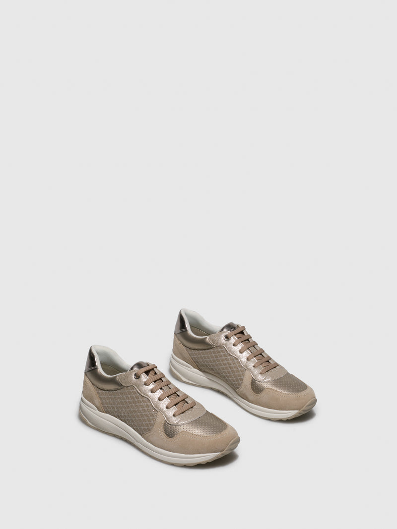 Geox Wheat Lace-up Trainers