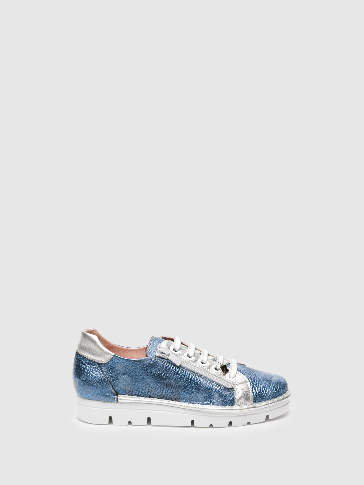 Jose Saenz LightBlue Lace-up Trainers