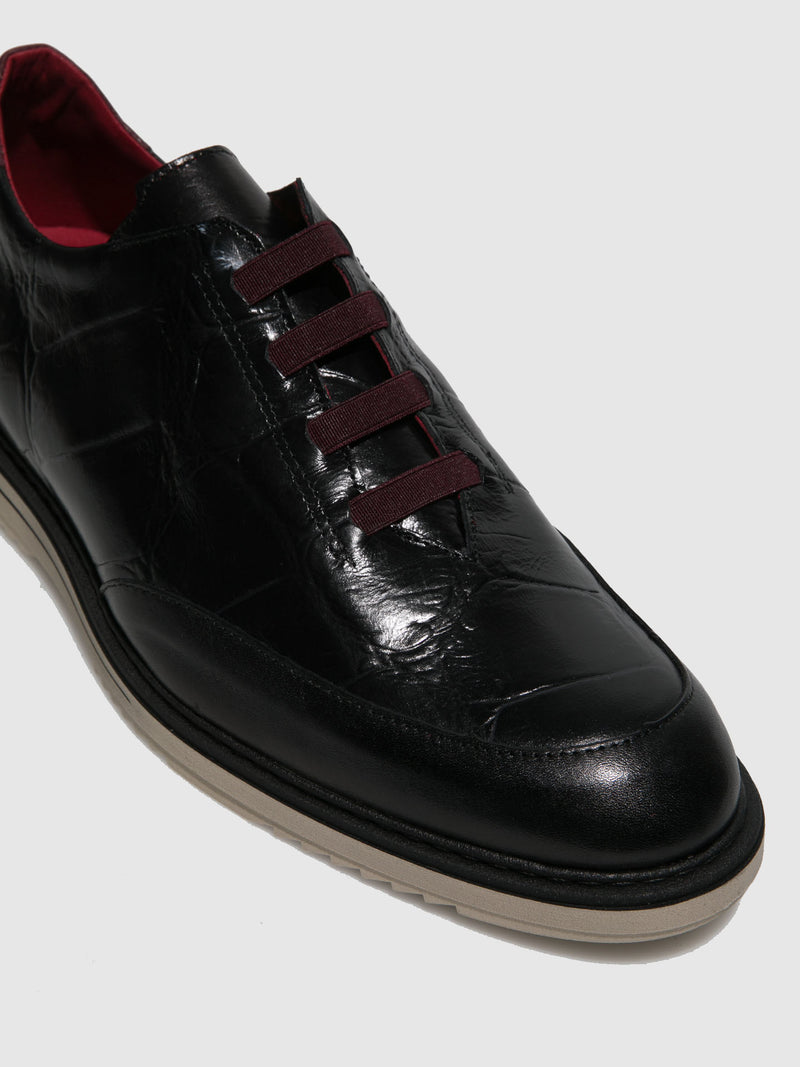 Jose Saenz Black Elasticated Shoes