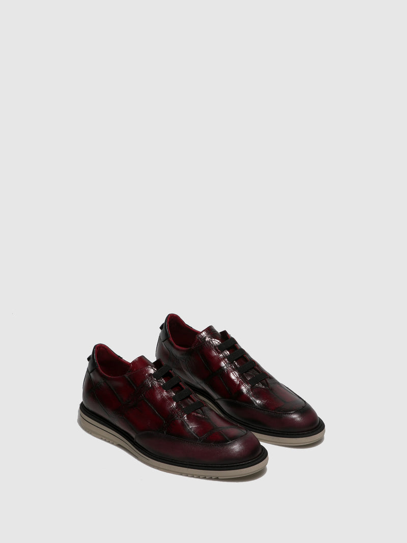 Jose Saenz Crimson Elasticated Shoes