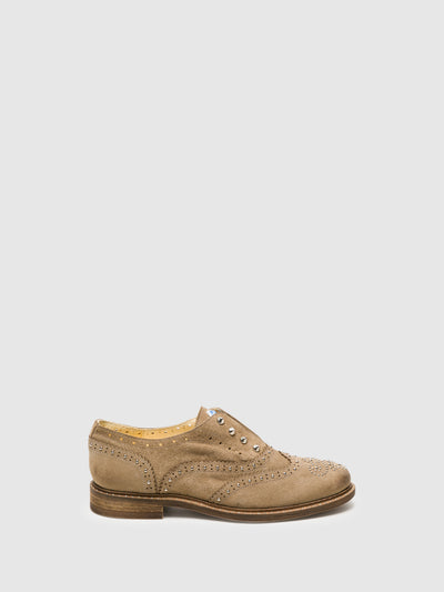 Lazuli Tan Oxford Shoes