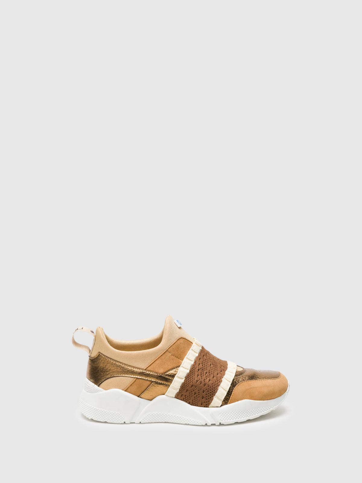 Lazuli Brown Slip-on Trainers