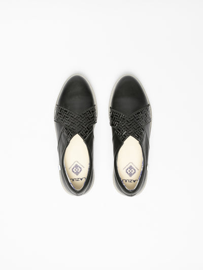 Lazuli Black Slip-on Trainers