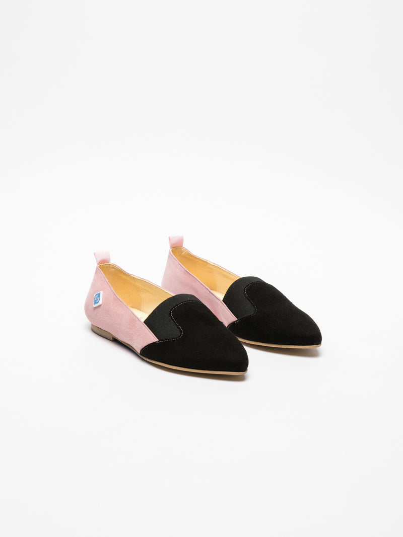 Multicolor Pointed Toe Shoes