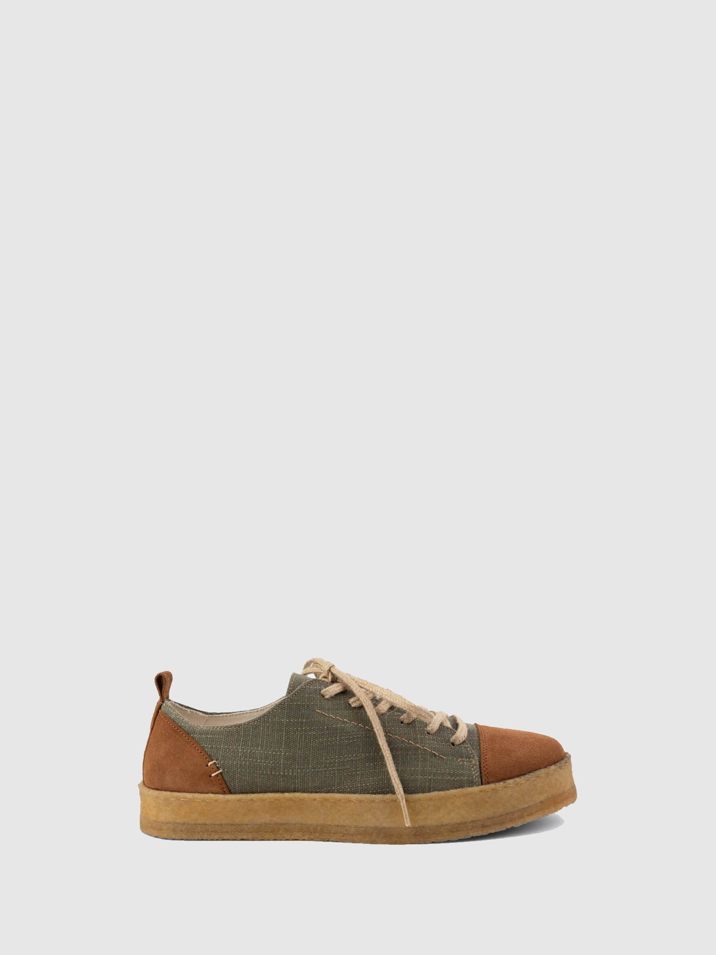 Lusquinos Camel Lace-up Shoes