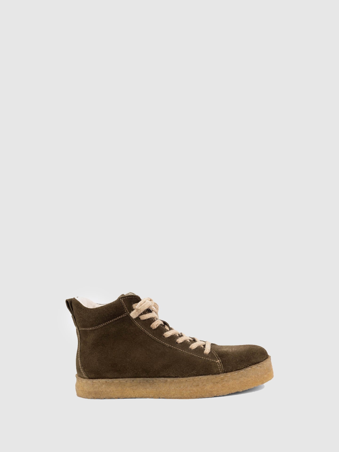 Lusquinos Olive Lace-up Shoes