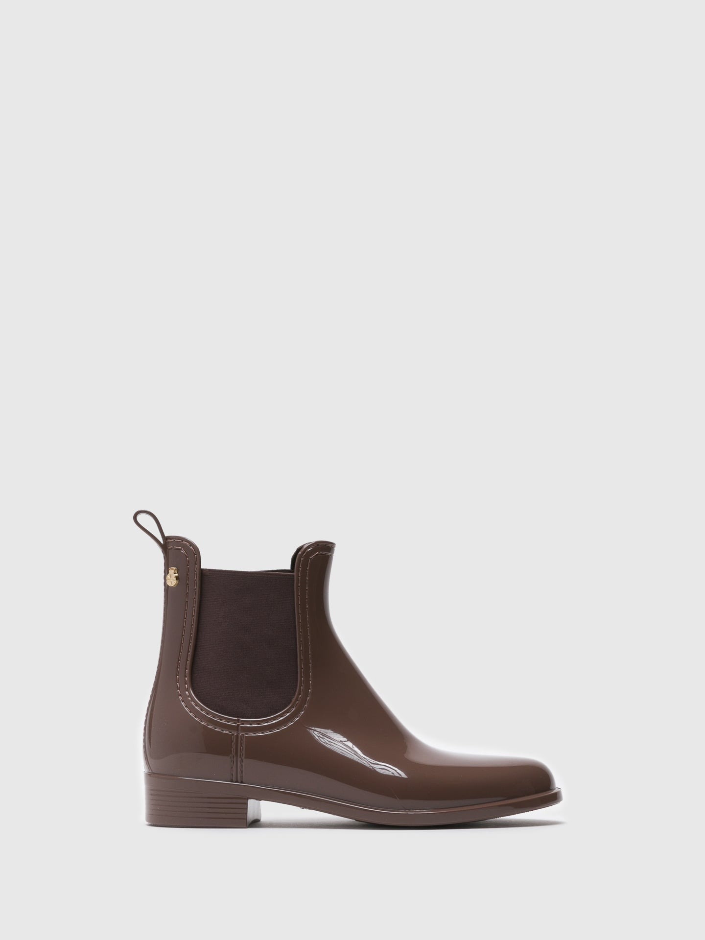 Lemon Jelly Brown Chelsea Ankle Boots