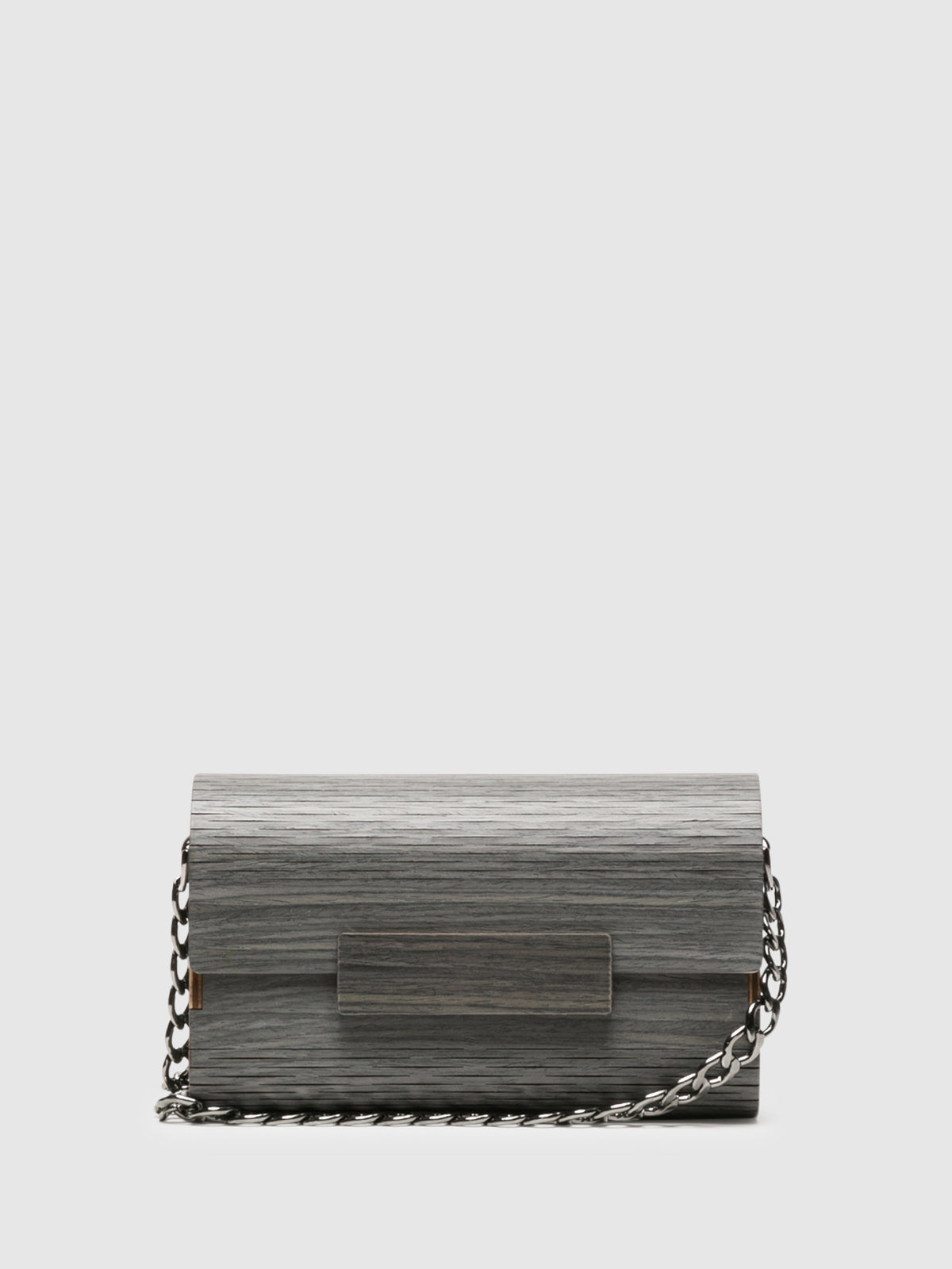 Marita Moreno Gray Clutch