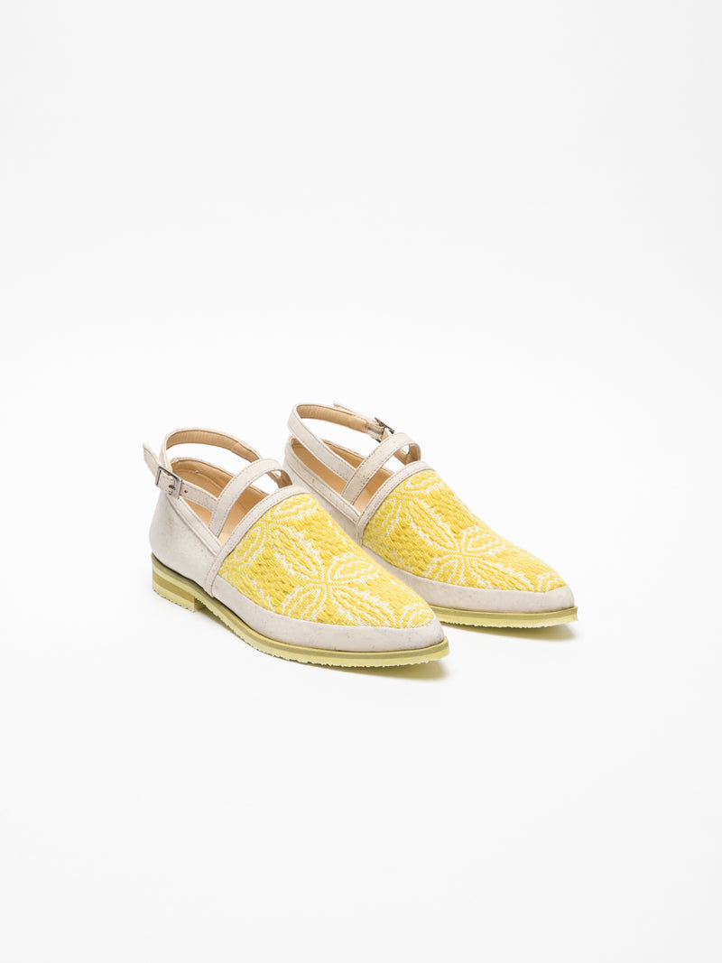 Yellow Flat Shoes