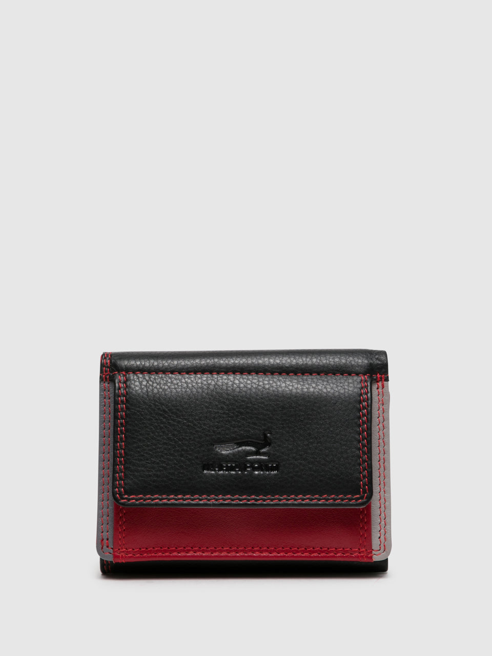 MARTA PONTI Red Black Card Holder