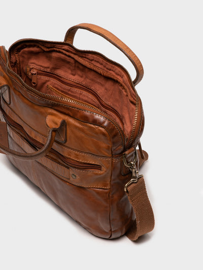 MARTA PONTI Brown Laptop Bag