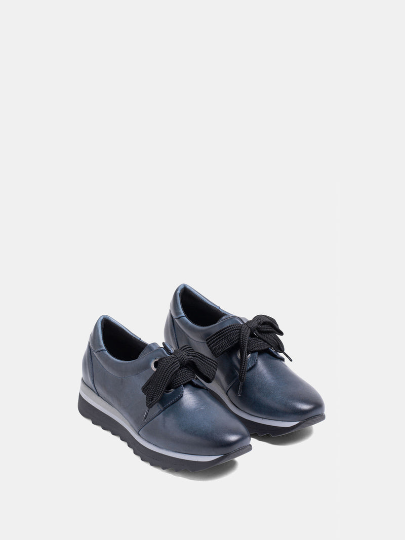 MARILA SHOES DarkBlue Lace-up Trainers