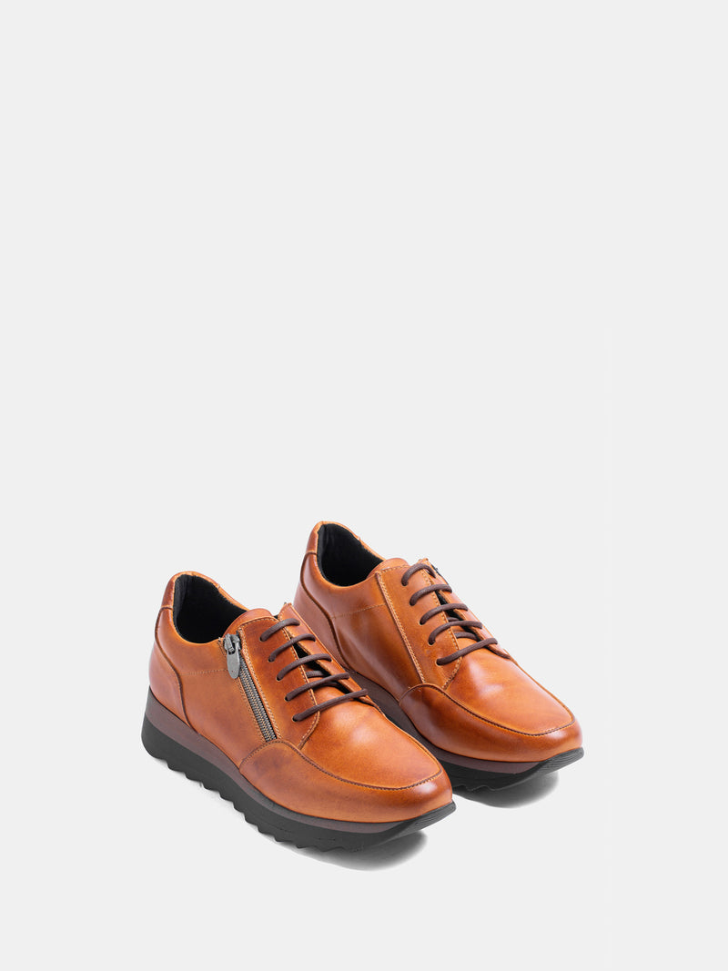 MARILA SHOES Brown Lace-up Trainers
