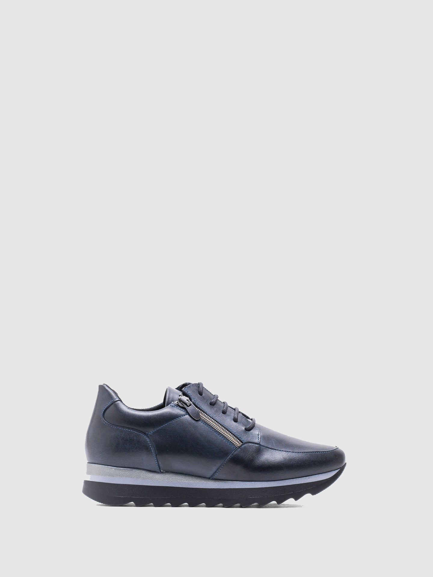 MARILA SHOES Navy Lace-up Trainers