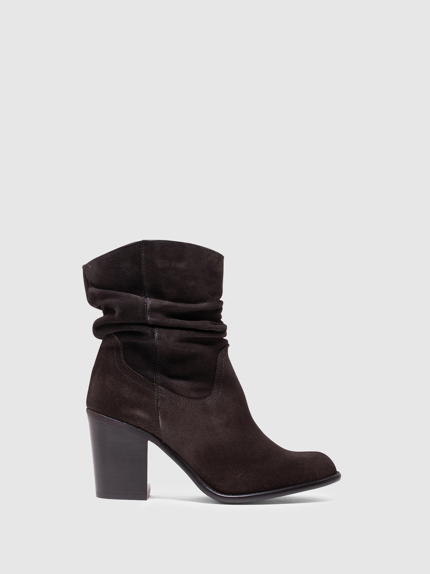 MARILA SHOES DarkGray Pointed Toe Boots