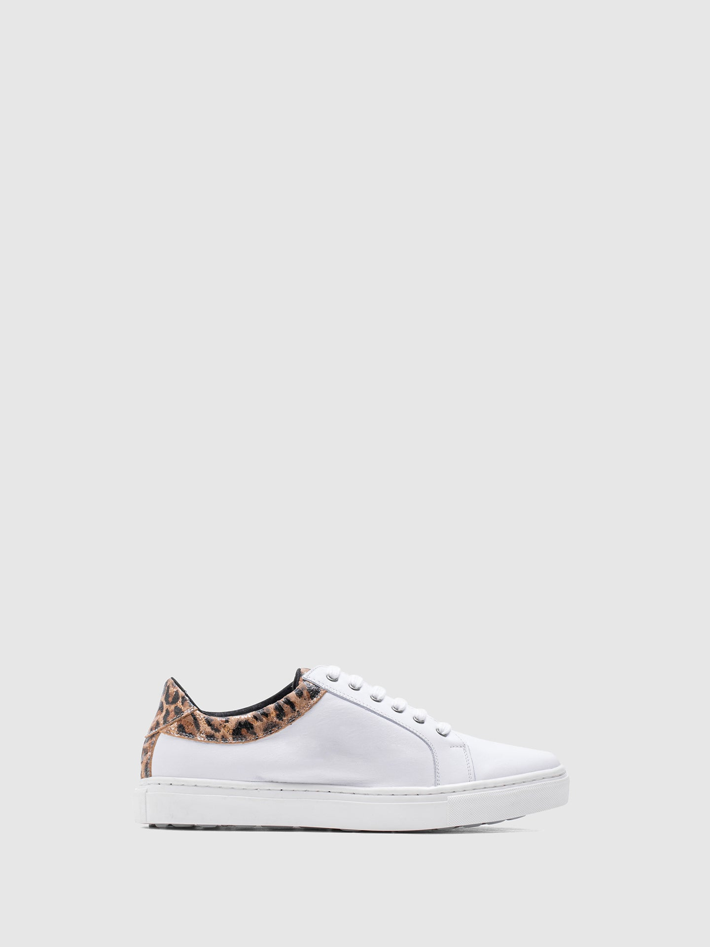 MARILA SHOES White Lace-up Trainers