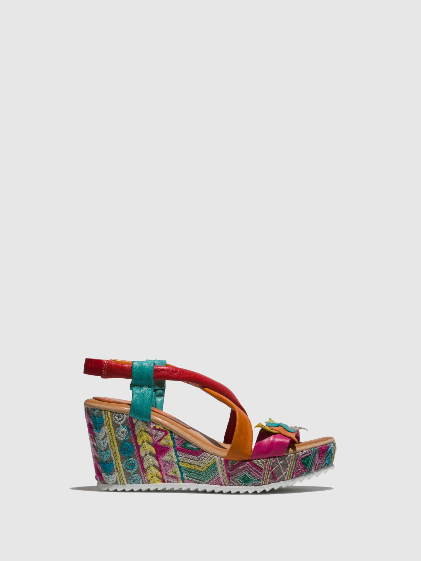 Marila Shoes Multicolor Wedge Sandals