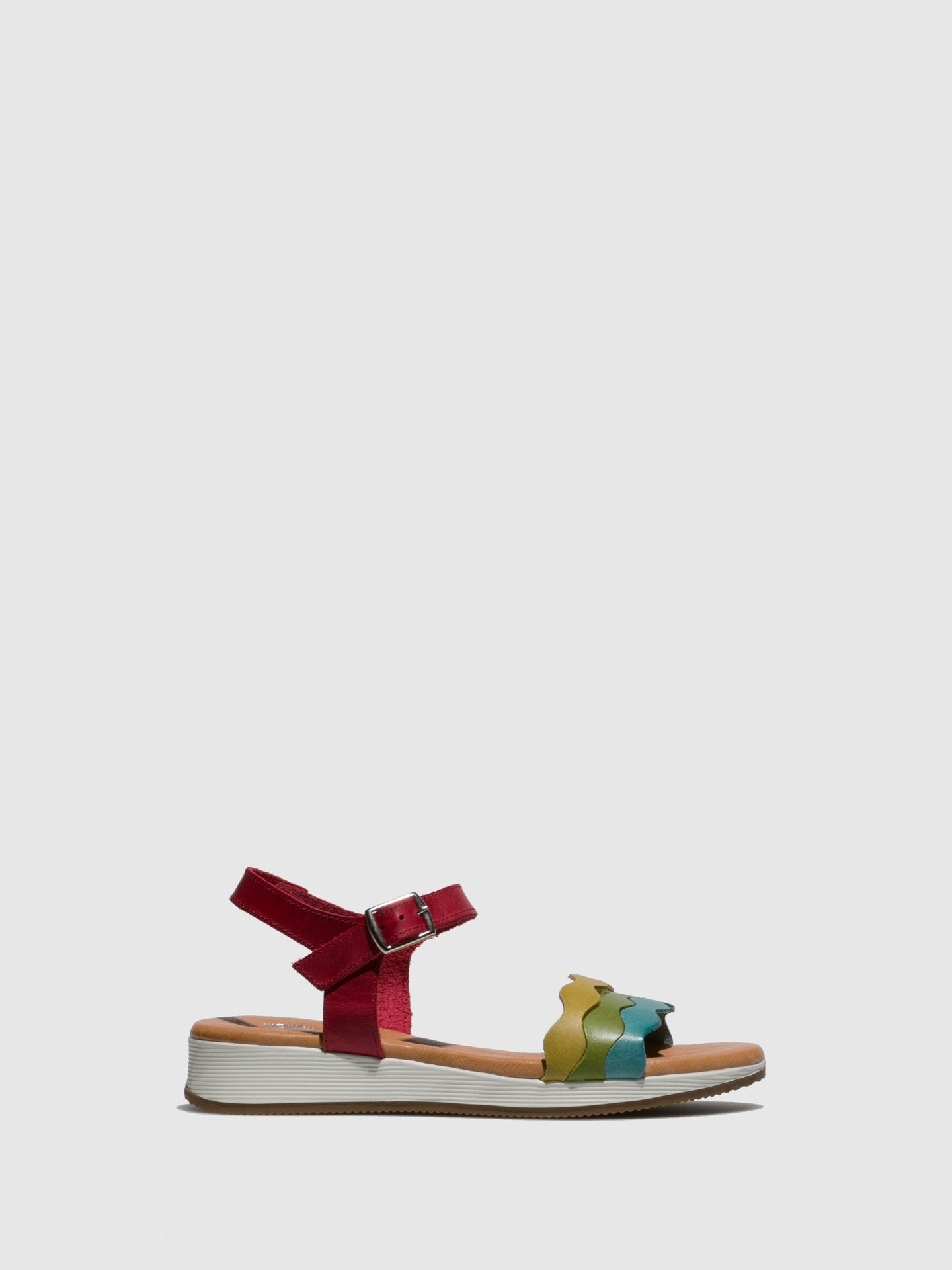 Marila Shoes Multicolor Buckle Sandals